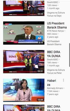Televisheni BBC Swahili poster