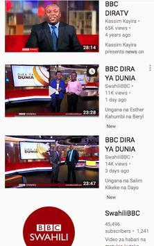 Televisheni BBC Swahili screenshot 1