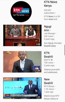 Televisheni BBC Swahili screenshot 2
