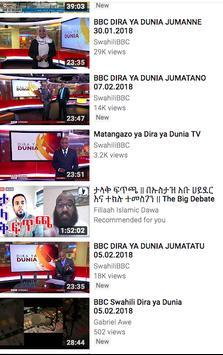 Televisheni BBC Swahili screenshot 3