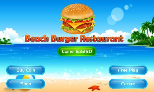 Beach Burger Restaurant poster