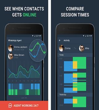 WhatsAgent - Online Tracker & Analyzer Pro screenshot 1