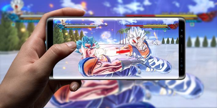 Omni Super Goku Saiyan Kaioken apk screenshot