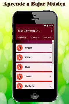 Bajar Canciones Gratis A Mi Celular Guia Rapido screenshot 1