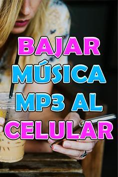 Bajar Musica mp3 a mi Celular Rapido y Gratis Guía poster