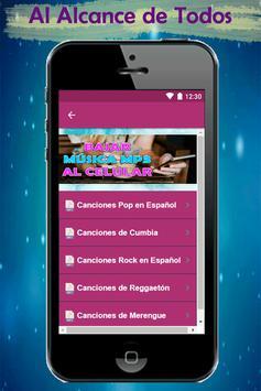 Bajar Musica mp3 a mi Celular Rapido y Gratis Guía screenshot 2