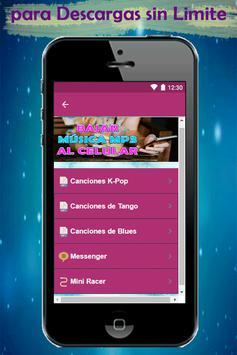 Bajar Musica mp3 a mi Celular Rapido y Gratis Guía screenshot 3