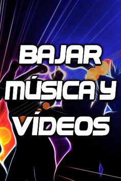 Bajar Musica y Videos Gratis mp3 mp4 Guide Fácil poster