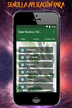 Bajar Musica y Videos Gratis mp3 mp4 Guide Fácil screenshot 1