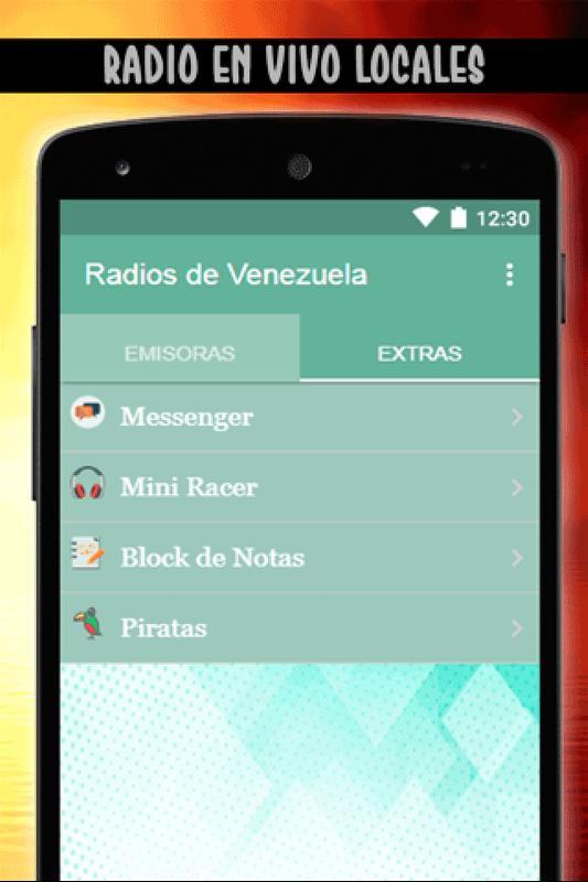 5038a002827ee Radios De Venezuela Gratis - Emisoras Venezolanas for Android - APK ...