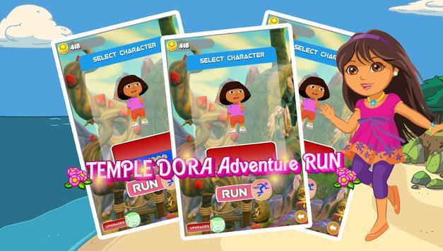 Temple Dora Adventure Run poster