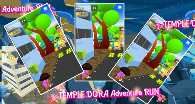 Temple Dora Adventure Run apk screenshot