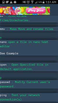 Linux Commands Manual Pro apk screenshot