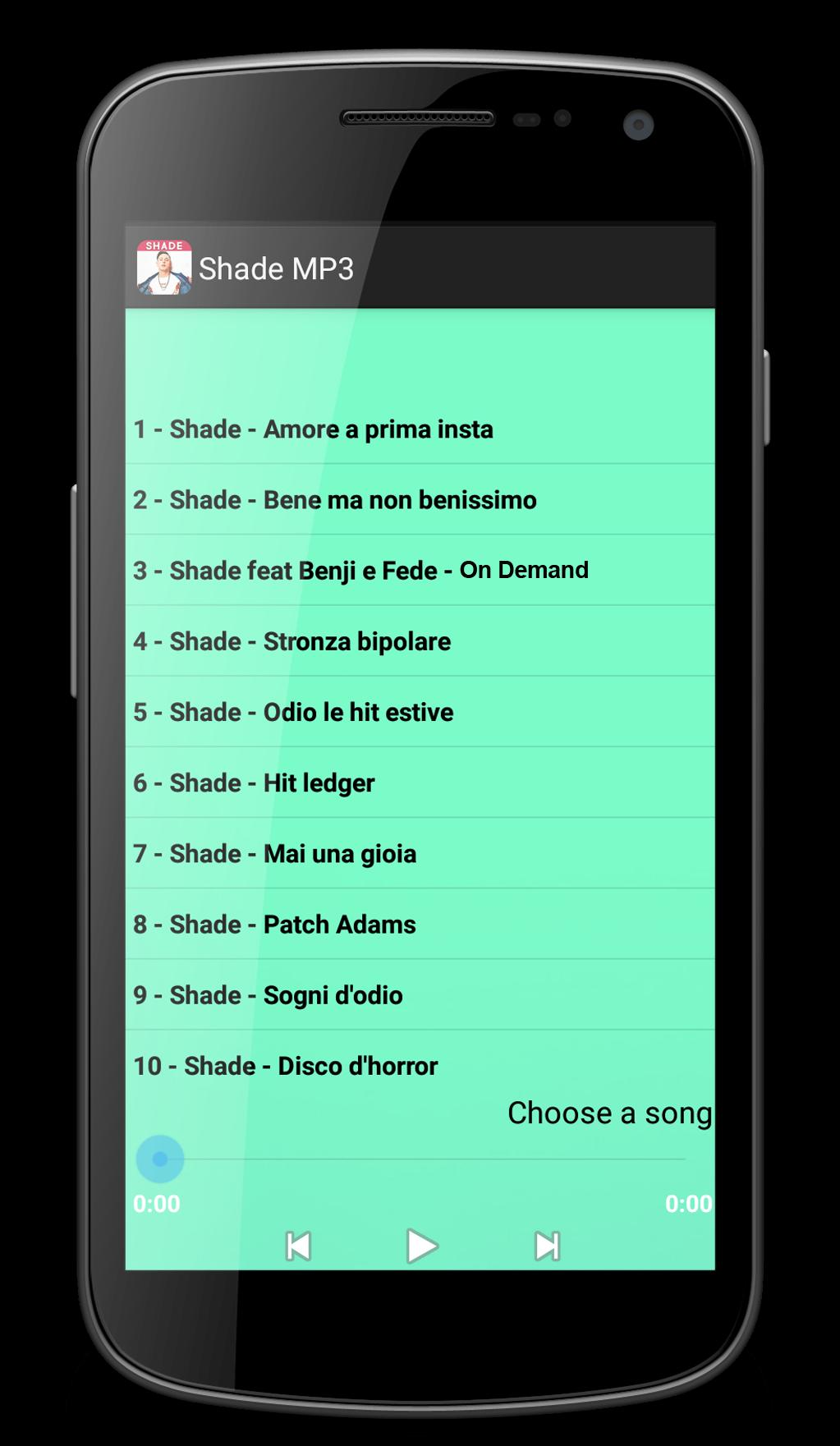 Shade Mai Una Gioia.Shade Mp3 For Android Apk Download