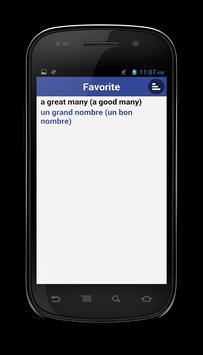 French Dictionary apk screenshot
