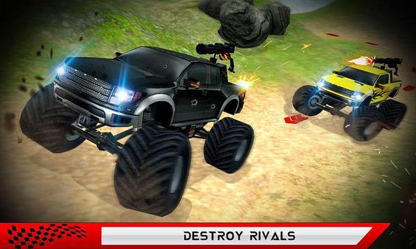 Monster Truck Hot Racing Fever apk screenshot