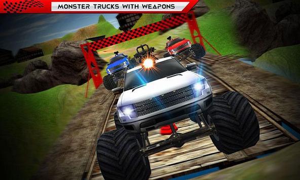 Monster Truck Hot Racing Fever poster