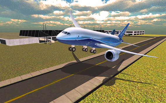 Airport Flight Simulator 2k17 apk screenshot