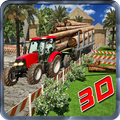 Cargo Log Truck Driver Offroad