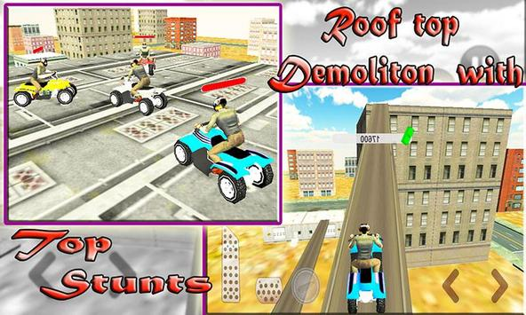 Extreme Rooftop Stunt Battle poster