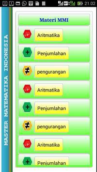 MMI Matematika Asik apk screenshot