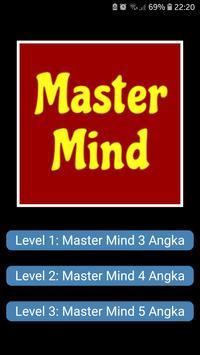 Master Mind Angka poster
