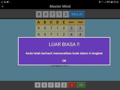Master Mind Angka screenshot 7
