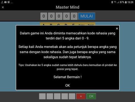 Master Mind Angka screenshot 9