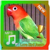 Kicau Burung Love Bird Josan Masteran icon