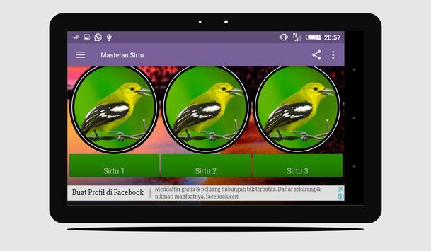 Masteran Sirtu Lengkap apk screenshot