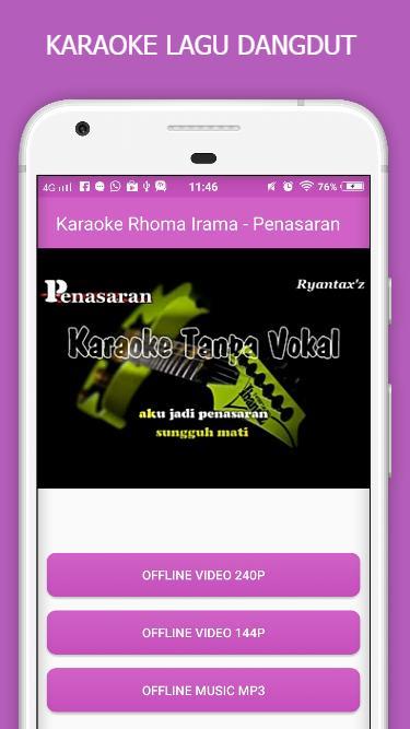 Download lagu dangdut karaoke tanpa vokal mp3
