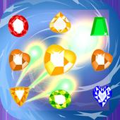 Jewel Match 3 Fire icon
