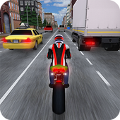 Race the Traffic Moto icon