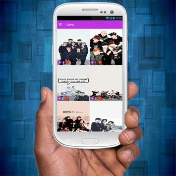 BTS Wallpaper HD apk screenshot