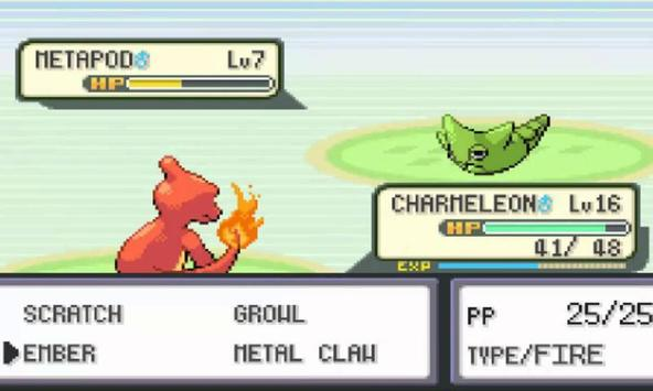 Tips Pokemon Fire Red Version GBA Ultimate apk screenshot