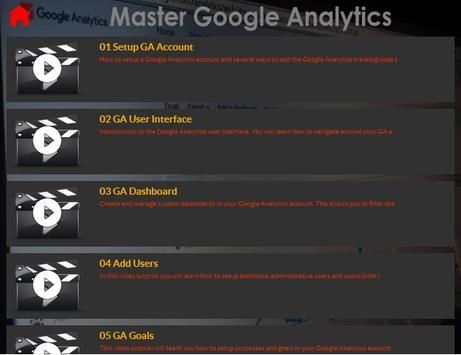 Master Google Analytics screenshot 3