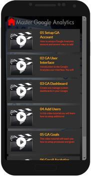 Master Google Analytics screenshot 1