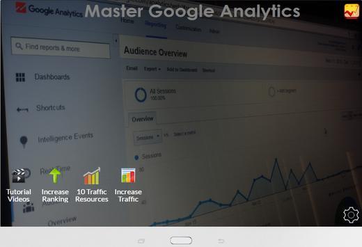 Master Google Analytics screenshot 4