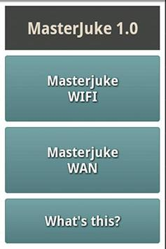 MasterJuke poster