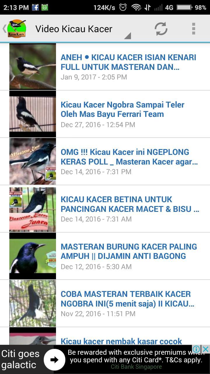Masteran Kacer Gacor For Android Apk Download