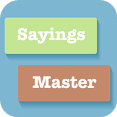 Learn English Vocabulary & Sayings- Sayings Master icon