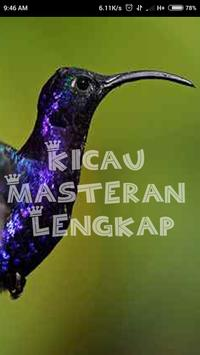Master Kicau Goldfinch poster