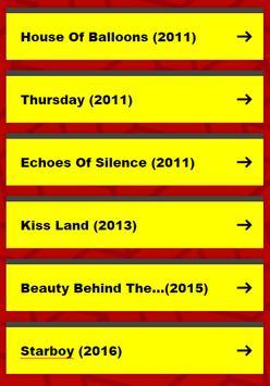 The Weeknd Lyrics & Songs apk screenshot