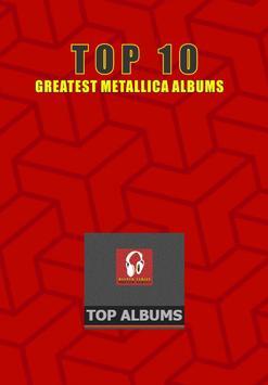 Top 10 Metallica Albums poster