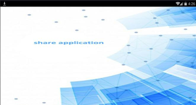 Share Application poster