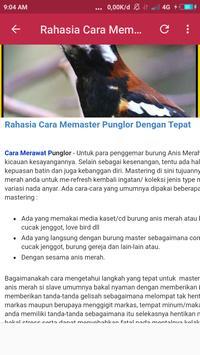Kicau Pemaster Punglor Lengkap screenshot 2