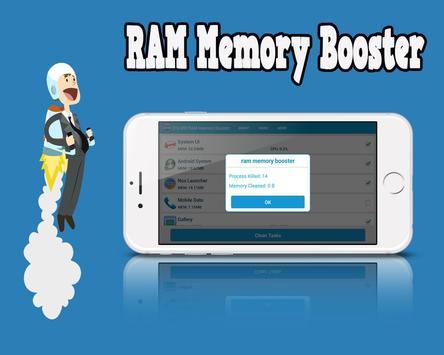 216 MB RAM Memory Booster screenshot 1