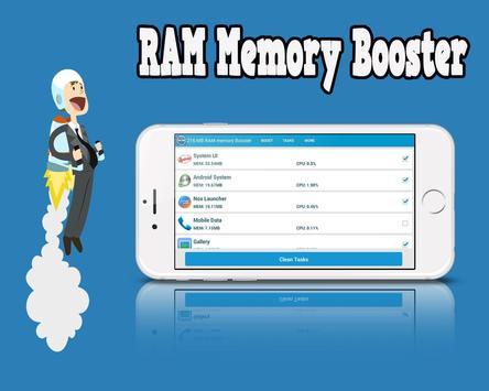 216 MB RAM Memory Booster screenshot 2