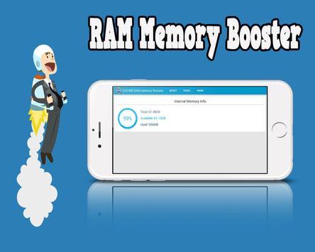 216 MB RAM Memory Booster screenshot 3