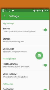 Clip Master Clipboard Manager 4 Android P Launcher screenshot 7